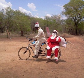 santa-bicycle